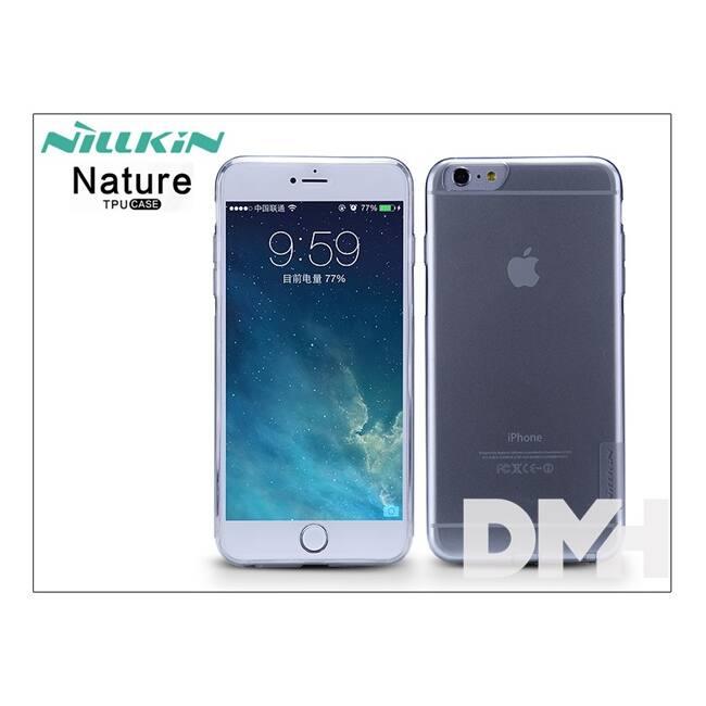 Nillkin NL202851 NATURE iPhone 6+ vékony szürke szilikon hátlap
