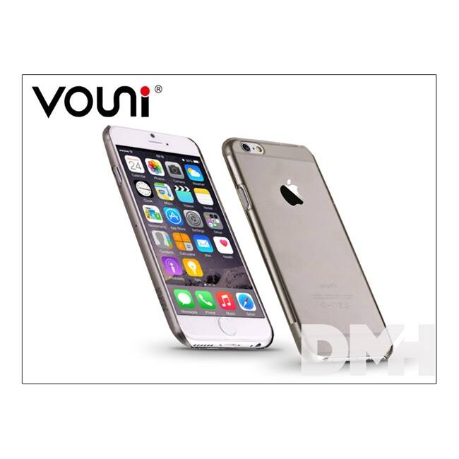 Vouni ST955007 PURE iPhone 6/6S Crystal fekete hátlap