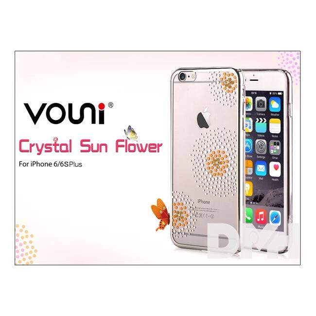 Vouni ST969356 Crystal SUN iPhone 6+/6S+ ezüst hátlap