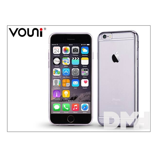 Vouni ST978501 SOFT LIGHT iPhone 6/6S fekete hátlap