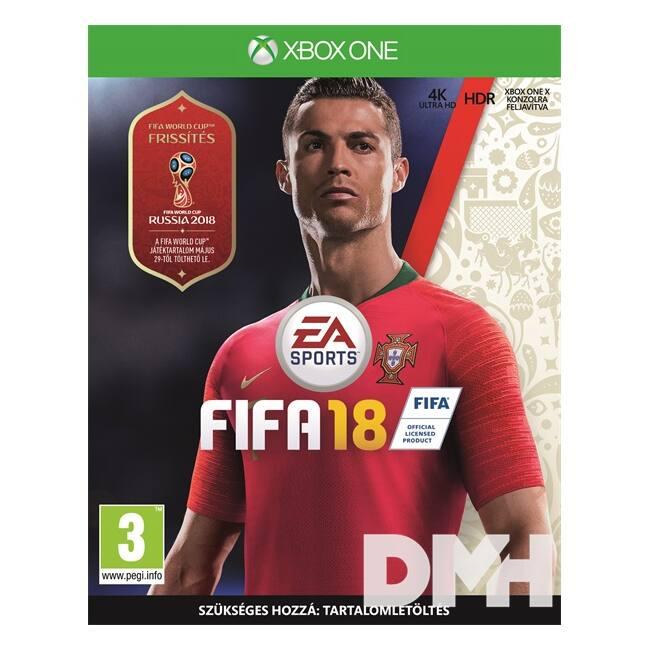 FIFA 18 XBOX One játékszoftver