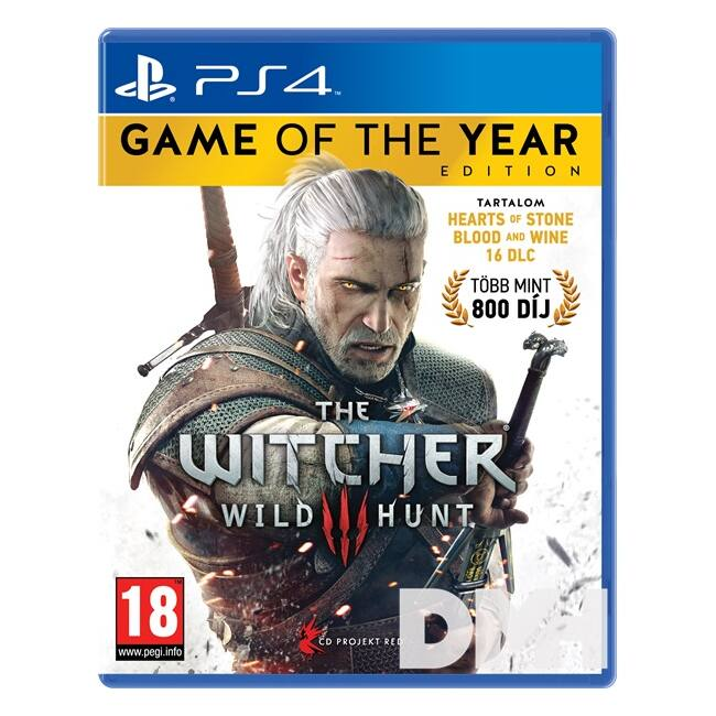 The Witcher 3: The Wild Hunt - Game Of The Year Edition PS4 játékszoftver