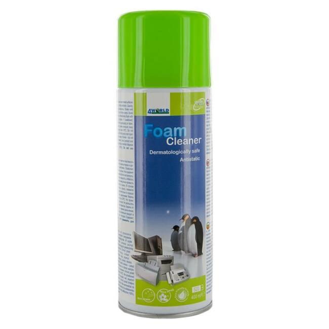 4World Tisztítóhab műanyagokhoz 400ml