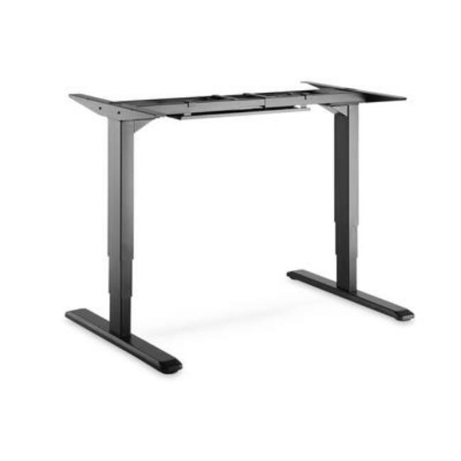 Electric Height Adjustable Desk Frame for Tabletop up to 90x200cm, 100kg