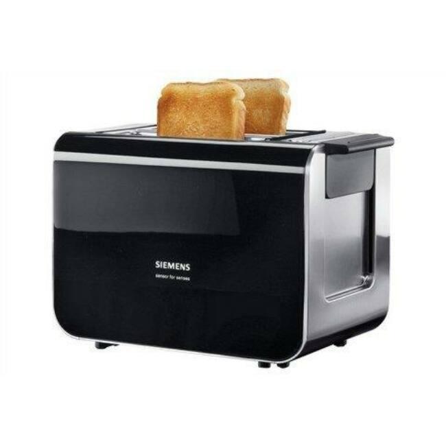 Siemens TT86103 kenyérpirító, fekete