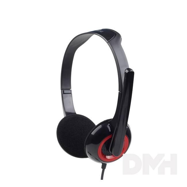 Gembird MHS-002 fekete headset
