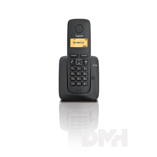 Gigaset A120 fekete dect telefon