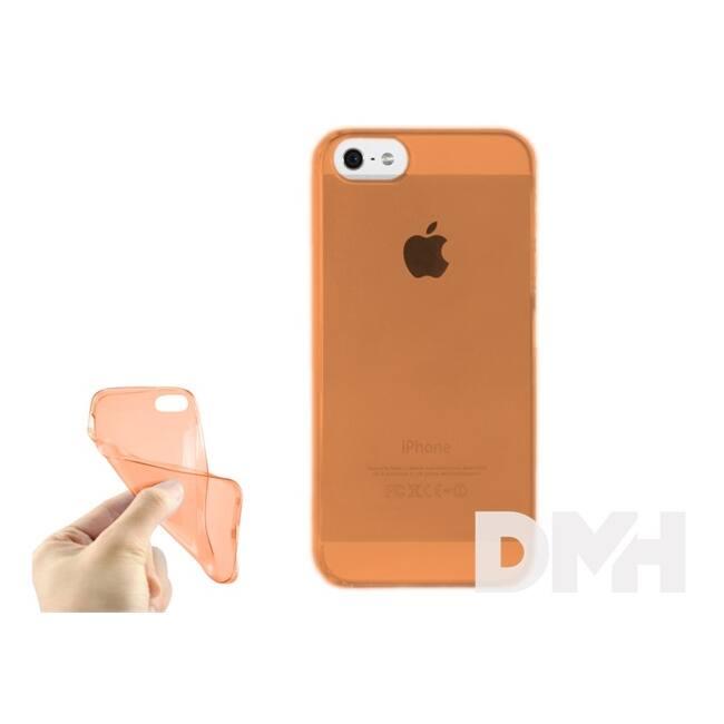iTotal CM2716 0,33 mm slim tok iPhone 5,5S modellekhez narancs