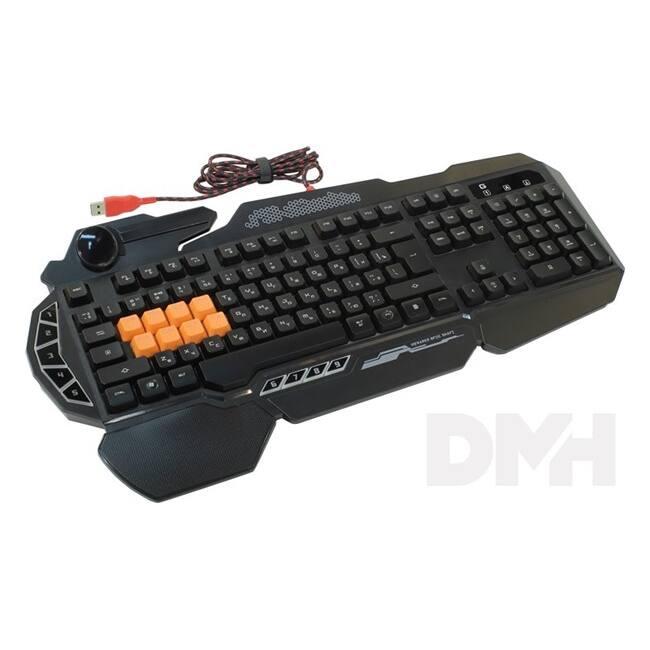 A4-Tech Bloody B318 USB fekete HUN mechanikus gamer billentyűzet