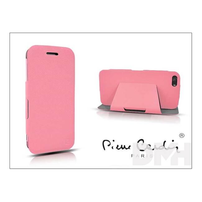 Pierre CardinFP01B-PKIP5C DeLuxe Folio iPhone 5C pink tok