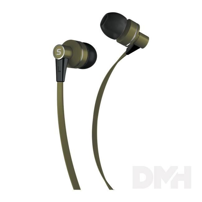 Sencor SEP 300 KHAKI kheki mikrofonos fülhallgató