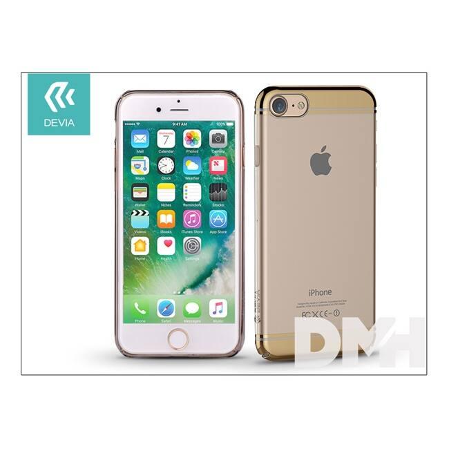 Devia ST993115 GLIMMER2 iPhone 7 pezsgőarany hátlap