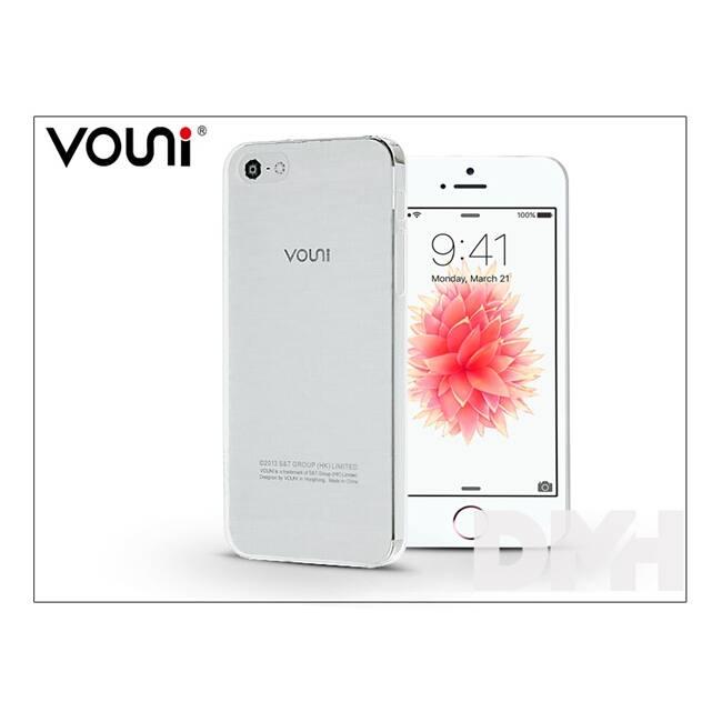 Vouni ST915933 iPhone 5S/5SE fehér ultravékony hátlap