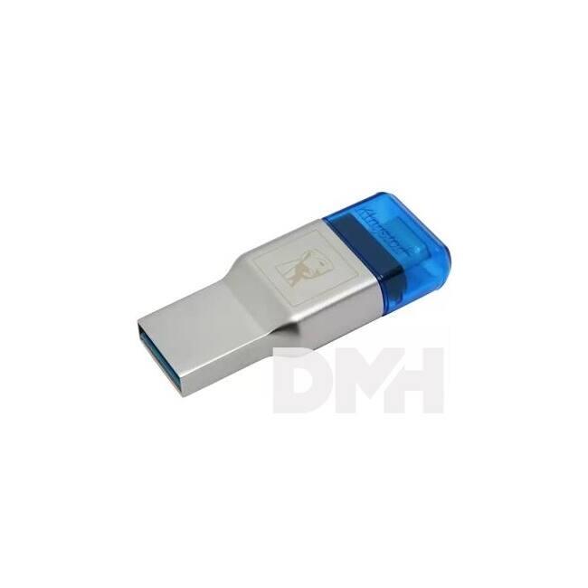Kingston FCR-ML3C MobileLite DUO 3C USB 3.1+Type C kártyaolvasó
