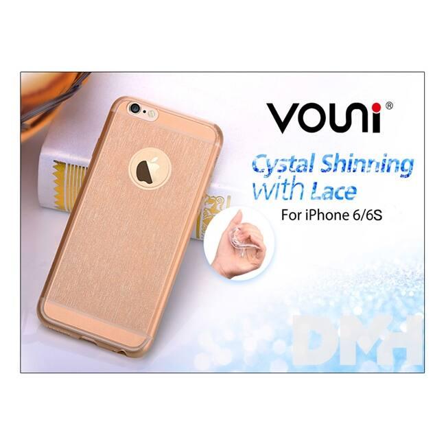 Vouni ST969455 Shinning iPhone 6/6S Crystal pezsgő hátlap