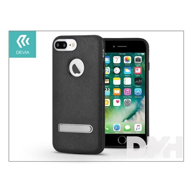 Devia ST994549 iStand iPhone 7+ fekete hátlap