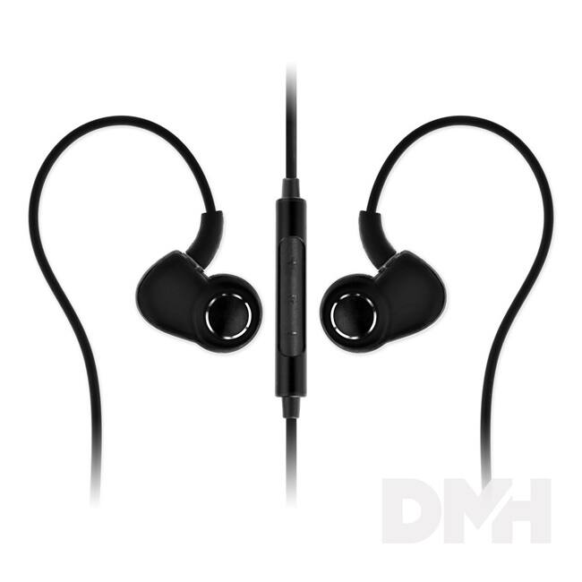 SoundMAGIC PL30+C In-Ear fekete-szürke fülhallgató headset