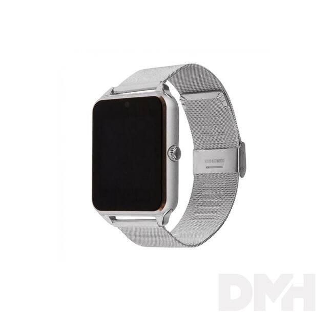 iTotal SwatchS fémszíjas ezüst okosóra