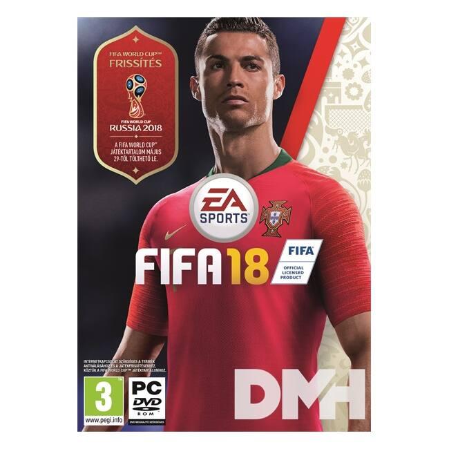 FIFA 18 PC játékszoftver