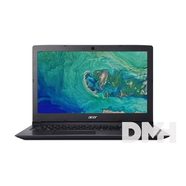 "Acer Aspire A315-53-38A5 15,6""/Intel Core i3-7020U /4GB/256GB/Int. VGA/fekete laptop"