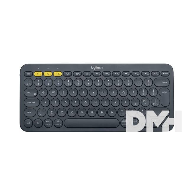 Logitech K380 Multi-device sötét-szürke Bluetooth UK billentyűzet