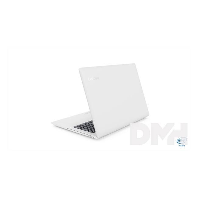 "LENOVO IdeaPad 330 81D100ABHV 15,6""/Intel Celeron N4000/4GB/500GB/Int. VGA/Win10/fehér laptop"