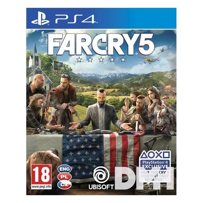 Far Cry 5 PS4 játékszoftver