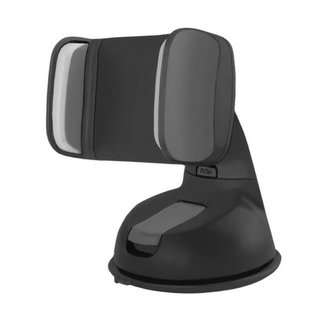 Qoltec állítható autós tartó szélvédőre smartphone 2.0-6.0'' fekete