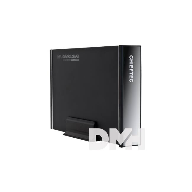 """Chieftec CEB-7035S USB3.0/SATA 3,5"""" fekete külső HDD ház"""