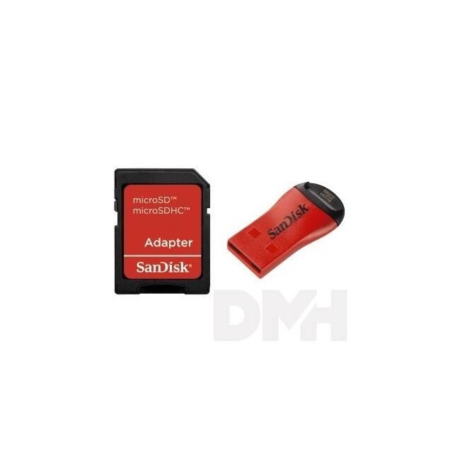 Sandisk Micro Mate SD Mobilkártya Olvasó/Író adapterrel
