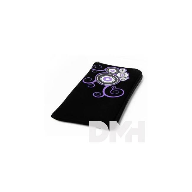 Max Mobile MAR026 Croco fekete-lila XXL tok