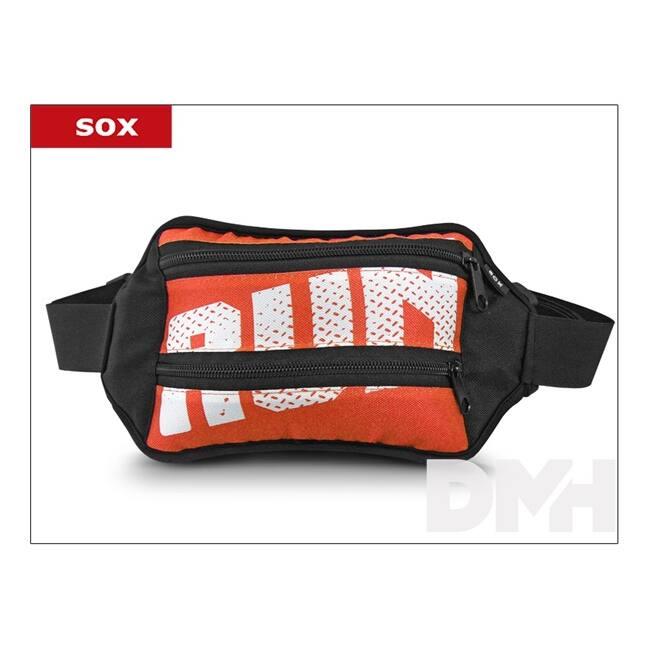 Sox univerzális narancssárga sport övtáska