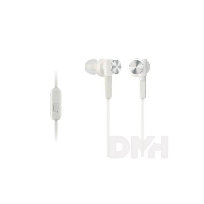 Sony MDRXB50APW.CE7 Extra Bass fehér mikrofonos fülhallgató