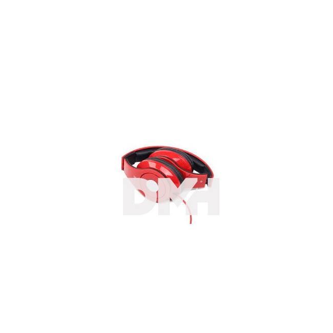 Gembird MHS-DTW-R piros headset