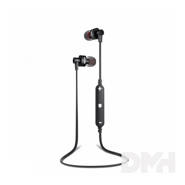 AWEI A990BL In-Ear Bluetooth fekete fülhallgató headset