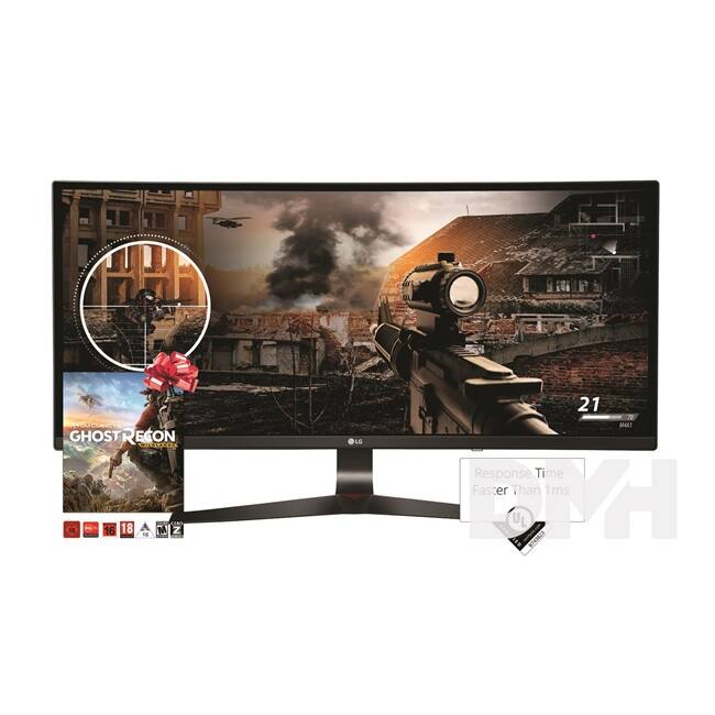"LG 34"" 34UC79G LED IPS 21:9 Ultrawide HDMI 144Hz ívelt monitor"