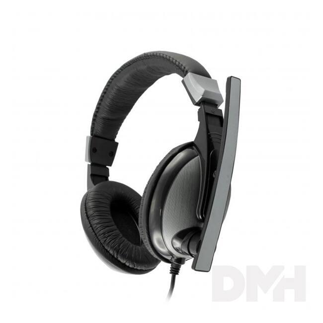 Sbox HS-302 mikrofonos fejhallgató