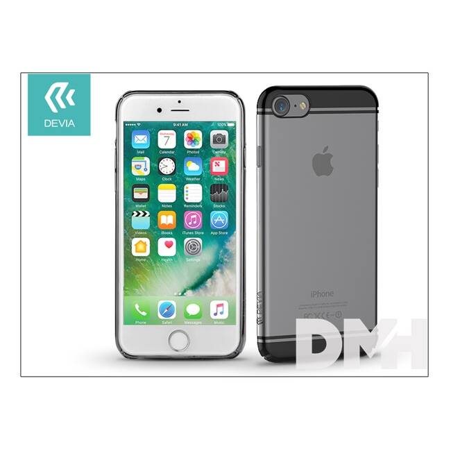 Devia ST993108 GLIMMER2 iPhone 7 fegyver fekete hátlap