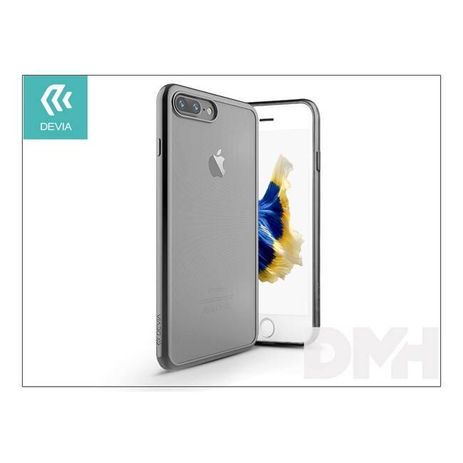 Devia ST992675 GLITTER SOFT iPhone 7+ fegyver fekete hátlap