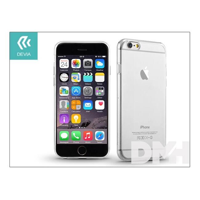 Devia ST935542 NAKED iPhone 6/6S Crystal átlátszó hátlap