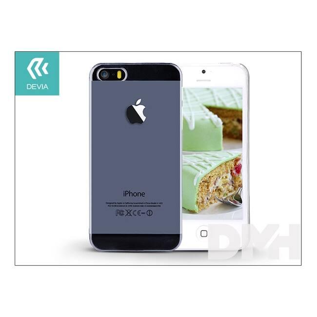 Devia ST983826 Smart iPhone 5/5S/5SE Crystal átlátszó hátlap