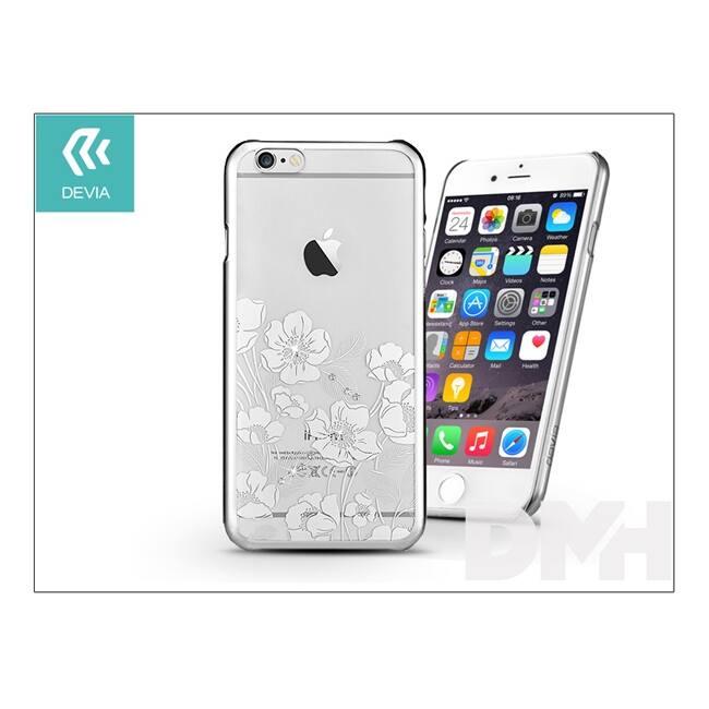 Devia ST967727 Crystal Rococo iPhone 6+/6S+ ezüst hátlap