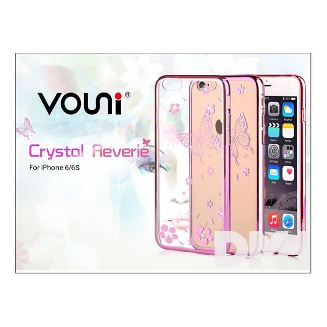 Vouni ST977092 Crystal Reverie iPhone 6/6S rózsaarany hátlap