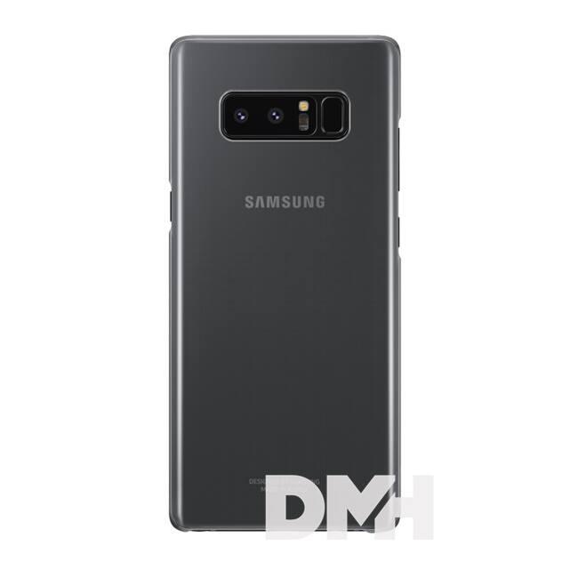 Samsung EF-QN950CBEG Galaxy Note 8 fekete clear cover hátlap