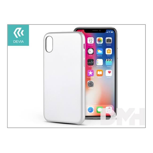 Devia ST305375 CEO 2 iPhone X fehér hátlap