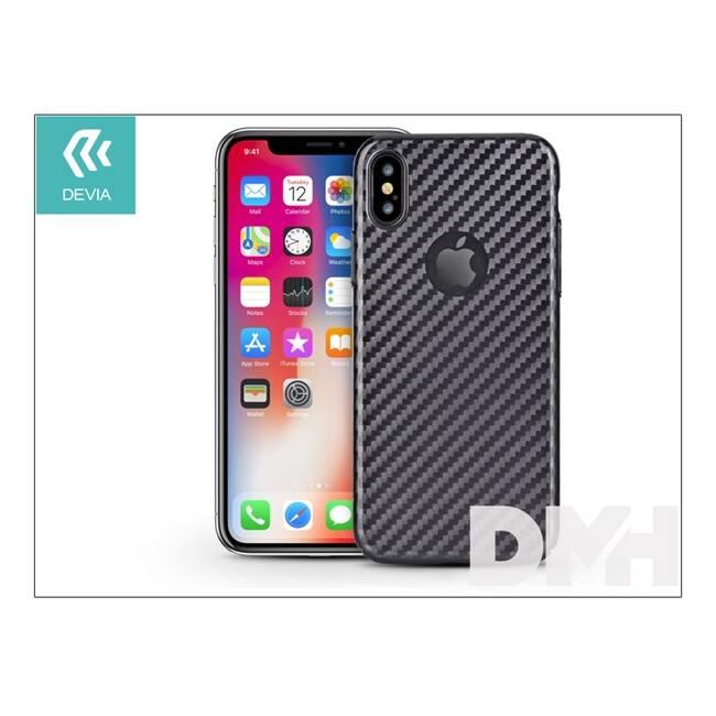 Devia ST306129 LINGER iPhone X fekete hátlap