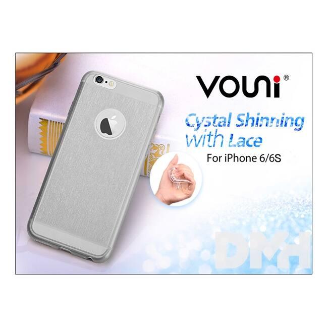 Vouni ST969431 SHINNING iPhone 6/6S Smoky fekete hátlap
