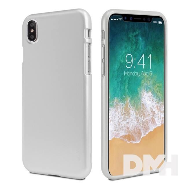 Mercury IJELLYIPXS iJelly iPhone X ezüst TPU hátlap
