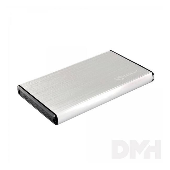 "Sbox HDC-2562W USB 3.0 2,5"" SATA fehér HDD ház"