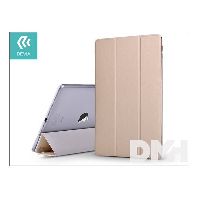 "Devia ST997809 LIGHT GRACE iPad Pro 12.9"" 16/17 arany védőtok"